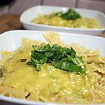 recette Farfalle poireau-curry