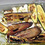 recette pressé de légumes d'été au chèvre frais et au pesto