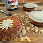 recette Tartelettes à la frangipane- (Nutella/confiture d'abricot)