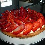recette Tarte fraises et framboises