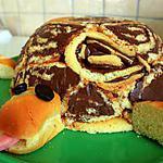 gâteau d'anniversaire en tortue
