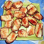 recette Petits croutons au fromage