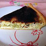 recette Tarte à la rhubarbe amande et noisette