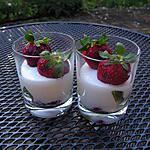 recette Verrines à la fraise et au kiwi