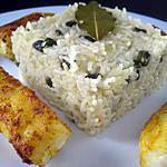 recette Cabillaud au curry et riz aux pistaches