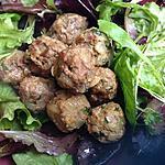recette boulettes de boeuf à la sauce soja