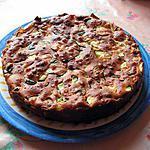 recette Gâteau au yaourt courgette et champignons