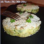 recette Galettes de pomme de terre & courgette