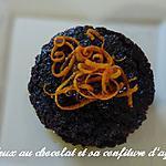 recette Moelleux au chocolat et sa confiture d'agrumes