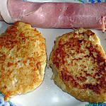 recette galette de chou fleur