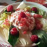 recette salade d'été au fromage frais granulé