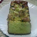 recette Cake et dés de pomme  au petit suisse.