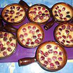 recette Petits clafoutis aux cerises