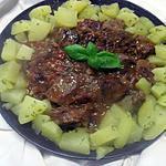 recette Sauté de boeuf en sauce.