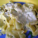 recette tortellini sauce aux fromages