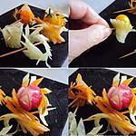 recette Décors de légumes