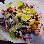 recette Pâtes farcies de légumes crus