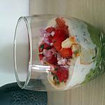recette verrine avocat surimi