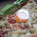 recette Pizza de romans à la créme ,chorizo et fromage