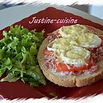 recette Bruschetta bacon, tomate et chèvre