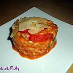 recette Risotto au pesto rosso et poivrons