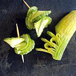 recette Fleurs de concombre