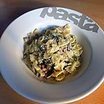 recette Farfalle aux courgettes/jambon et Boursin