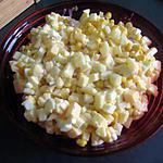 recette Salade toute jaune légèrement sucrée :-)