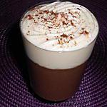 recette Liégeois au chocolat