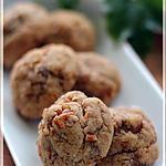 recette ~Étonnants rochers sucrés-salés~