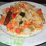 recette Couscous au micro vap tupperware