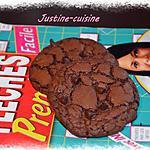 recette The cookies au chocolat&pépites de chocolat