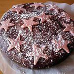 Gateau au chocolat à la pâte d'amande