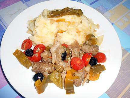 Capricciosa di carna et purée 430
