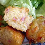 recette madeleines aux lardons et gruyère