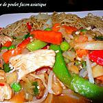 recette escalope de poulet façon asiatique