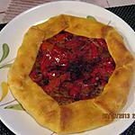 recette Tarte  poivron-thon