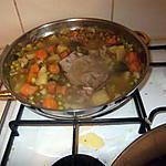 recette veau et légumes de saison  et mes rosiers