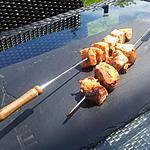 Brochettes de saumon tandoori