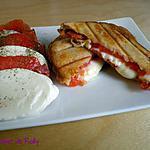 recette Croque chorizo et mozzarella