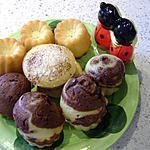 recette petits cakes choco-amandes