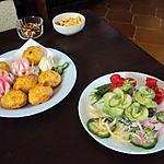 recette Déco de légumes pour apéritif ou buffet