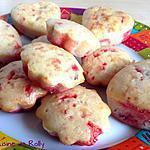 recette Muffins aux pralines roses de Lolibox