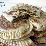 recette Pains farcis cuits à la poêle (idéal pr le ramadan)