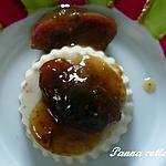 recette Panna cotta aux figues