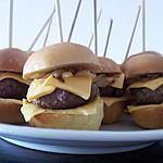 recette Minis burgers
