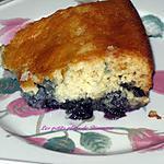 recette Gâteau pouding aux bleuets