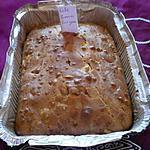 recette Cake pommes/foie gras