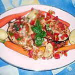 recette Darne de saumon grillée sauce vierge