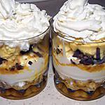 recette Verrine de mousse mascarpone à l'orange et....
